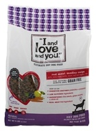 I And Love And You - Nude Kibble Red Meat Meledy Recipe Dry Dog Food - 5 lbs.