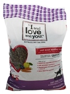 I And Love And You - Nude Kibble Red Meat Meledy Recipe Dry Dog Food - 13 lbs.