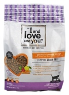 I And Love And You - Nude Kibble Dry Cat Food Poultry a Plenty Recipe - 5 lbs.