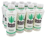 Detox Water - Bioactive Aloe Waters Box Original Lychee & White Grape - 12 Bottle(s)
