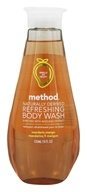 Method - Refreshing Body Wash Naturally Derived Mandarin Mango - 18 oz.