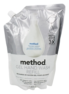 Method - Gel Hand Wash Refill Free of Dyes + Perfumes - 34 oz.