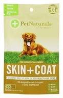 Pet Naturals of Vermont - Skin + Coat For Dogs of All Sizes - 30 Chew(s)