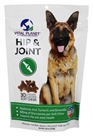 Vital Planet - Hip and Joint Treats For All Dogs Chicken Flavored - 30 Soft Chews