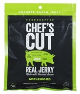 Chef's Cut Real Jerky - Uncured Bacon Jerky Applewood - 2 oz.