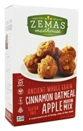Zema's Madhouse Foods - Ancient Whole Grain Muffin Mix Cinnamon Oatmeal Apple - 12.73 oz.
