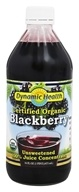 Dynamic Health - Certified Organic Blackberry Juice - 16 oz.