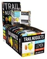 Trail Nuggets - All Natural Energy Bars Box Almond Lemon Hot Dates - 12 Bars