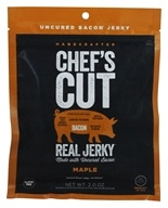 Chef's Cut Real Jerky - Uncured Bacon Jerky Maple - 2 oz.
