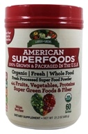Garden Greens - American Superfoods Fresh Processed Super Food Powder Delicious Berry - 21.2 oz.