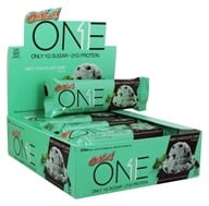 ISS Research - OhYeah! One Bar Mint Chocolate Chip - 12 Bars