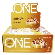 ONE Protein Bar Cinnamon Roll - 12 Bars Formerly OhYeah! One Bar