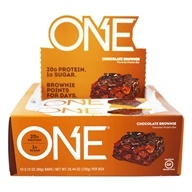 ONE Protein Bar Chocolate Brownie - 12 Bars Formerly OhYeah! One Bar