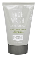 Scotch Porter - Face Wash Restoring Charcoal & Licorice - 3.4 oz.