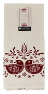 Now Designs - 100% Cotton Dish Towel Folk Feathers - 1 Towel(s)