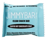 JimmyBar - Mini Clean Snack Bar Super Hip Chocolate Chip - 0.8 oz.