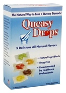 Three Lollies - Queasy Drops Assorted Flavors - 12 Lozenges
