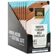 Endangered Species - Milk Chocolate Bars Box 48% Cocoa - 12 Bars