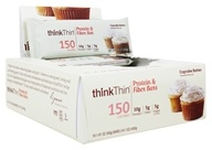 thinkThin Protein & Fiber Bars Cupcake Batter - 10 Bars