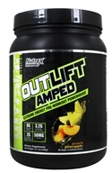 Nutrex - OutLift Amped Extreme Energy Pre-Workout Powerhouse Peach Pineapple - 15.7 oz.