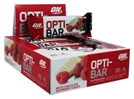 Optimum Nutrition - Opti-Bar High Protein Bar White Chocolate Raspberry - 12 Bars