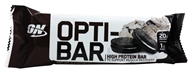 Optimum Nutrition - Opti-Bar High Protein Bar Cookies 'N Cream - 2.1 oz.