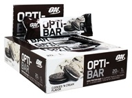 Optimum Nutrition - Opti-Bar High Protein Bar Cookies 'N Cream - 12 Bars