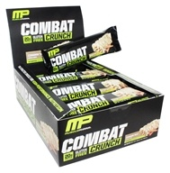 Muscle Pharm - Combat Crunch Bars Box Cinnamon Twist - 12 Bars
