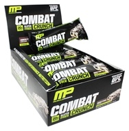 Muscle Pharm - Combat Crunch Bars Box Cookies 'N' Cream - 12 Bars