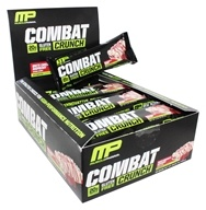 Muscle Pharm - Combat Crunch Bars Box White Chocolate Raspberry - 12 Bars