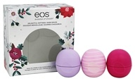 Eos Evolution of Smooth - Lip Balm Spheres - 3 Pack Holiday Limited Edition