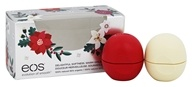 Eos Evolution of Smooth - Lip Balm Spheres White Berry & Vanilla Bean - 2 Pack Holiday Limited Edition