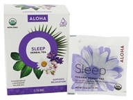 Aloha - Sleep Organic Herbal Tea - 15 Tea Bags