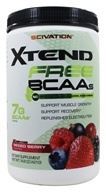 Scivation - Xtend Free BCAAs 30 Servings Mixed Berry - 14.8 oz.