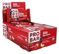 Pro Bar - Bite Organic Energy Bars Box Mixed Berry Mixed Berry - 12 Bars