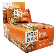 Pro Bar - Whole Food Meal Bars Box Almond Crunch - 12 Bars