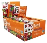 Pro Bar - Whole Food Meal Bars Box Original Collection Superfood Slam - 12 Bars