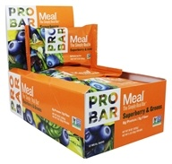Pro Bar - Whole Food Meal Bar Superberry & Greens - 12 Bars