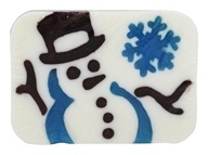 Hugo Naturals - Artisan Bar Soap Snowman Winter's Eve - 6 oz.
