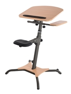 Stamina Products - WIRK Linea Standup Workstation