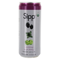 Sipp - Sparkling Organics Sipperior Craft Soda Mojo Berry - 10.5 oz.