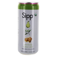 Sipp - Sparkling Organics Sipperior Craft Soda Summer Pear - 10.5 oz.
