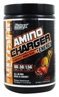 Nutrex - Amino Charger +Energy Clinically Dosed BCAA Fruit Punch - 11.3 oz.