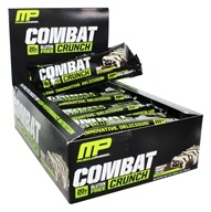 Muscle Pharm - Combat Crunch Bars Box Chocolate Coconut - 12 Bars