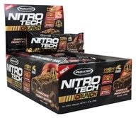 Muscletech Products - Nitro-Tech Crunch Bar Chocolate Peanut Butter - 12 Bars