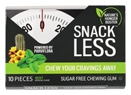 Snack Less - Sugar Free Chewing Gum Mint - 10 Piece(s)