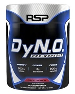 RSP Nutrition - DyN.O. Pre-Workout 30 Servings Fruit Punch - 7.9 oz.