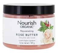 Nourish - Organic Rejuvenating Rose Butter - 5.2 oz.