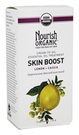 Nourish - Skin Boost Cream To Oil Treatment Lemon + Cassia - 2 oz.