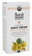 Nourish - Organic Restorative Night Cream Argan + Evening Primrose - 1.7 oz.